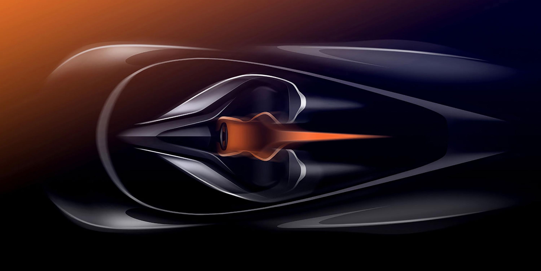 Sketch Interior Mclaren Speedtail