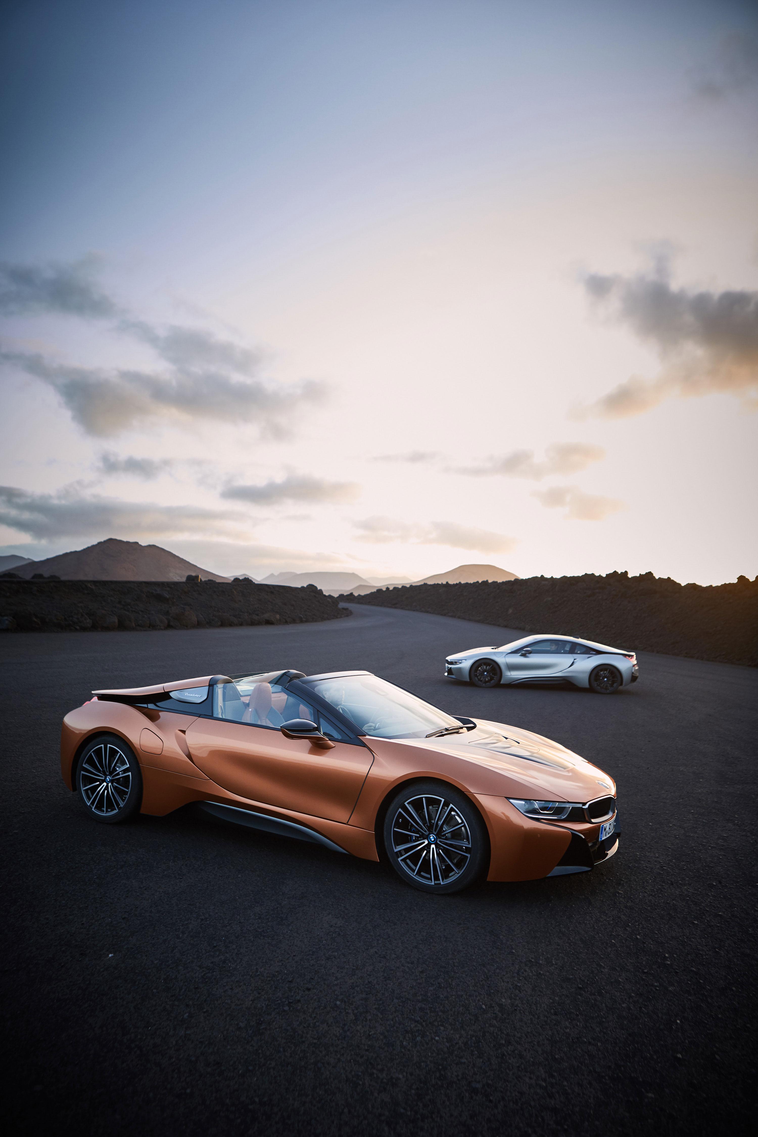 BMW i8 Roadster 2019 - Roadster e Cupê