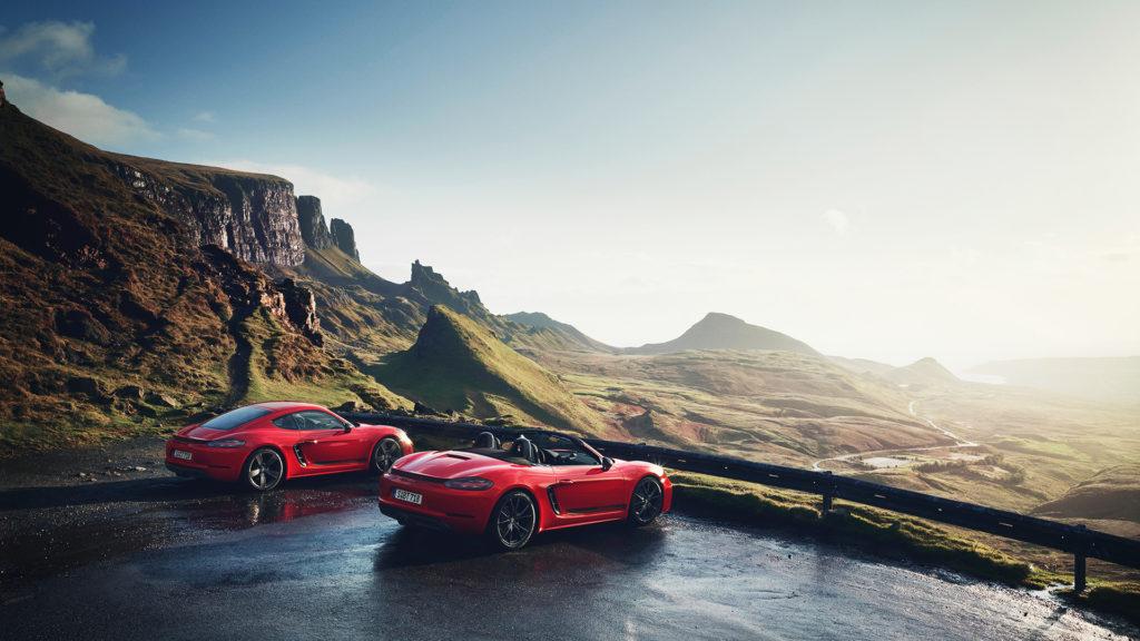 Porsche 718 Boxter e Cayman Elétrico