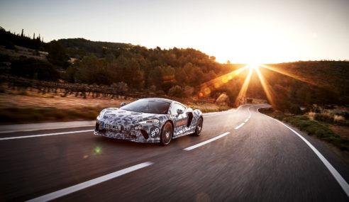McLaren Grand Tourer, agilidade e conforto para longas distâncias.