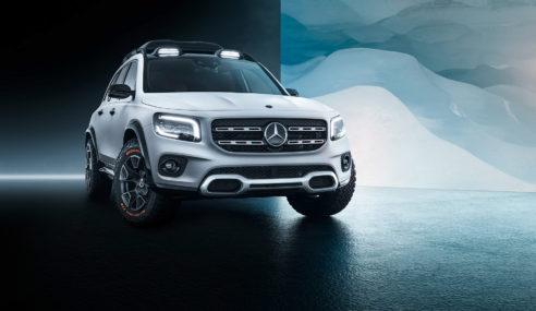 Mercedes-Benz Concept GLB, versão de produção será apresentada esse ano.