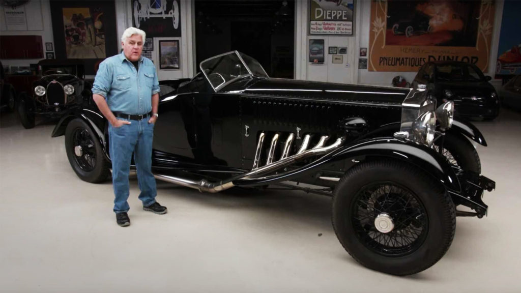 Jay Leno Rolls Royce Merlin V12