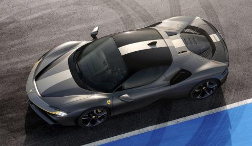 Nova Ferrari SF90 além dos 1.000 cavalos tem design exemplar.