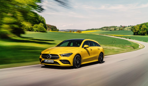 Mercedes-AMG CLA 4MATIC Shooting brake, o wagon genes de carro esportivo.