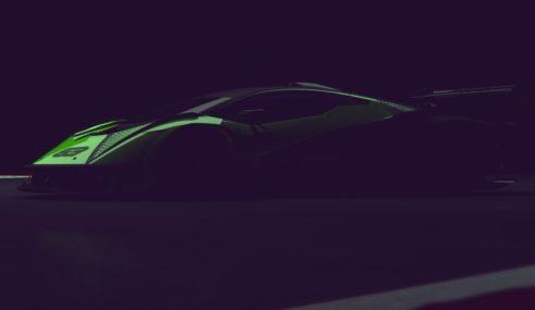 Trailer do novo hipercarro V12 da Lamborghini