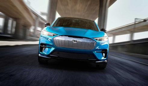 Mustang Mach-E abre portas para nova era dos 100% elétricos da Ford