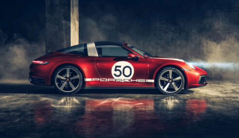 Design Heritage no novo Porsche 911 Targa 4S