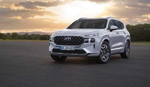 Hyundai Santa Fe 2021 é revelado com novo design